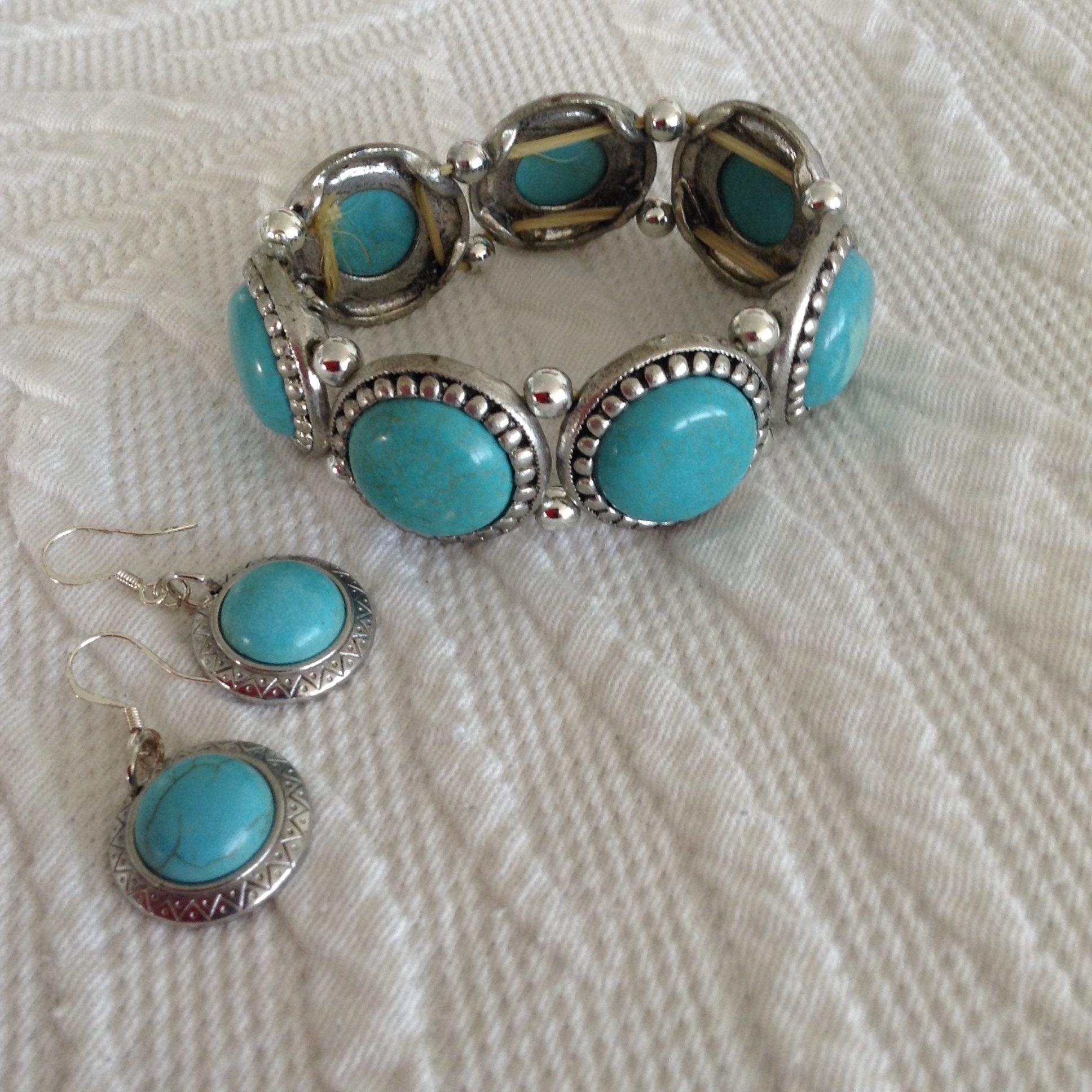 Armband och örhängen