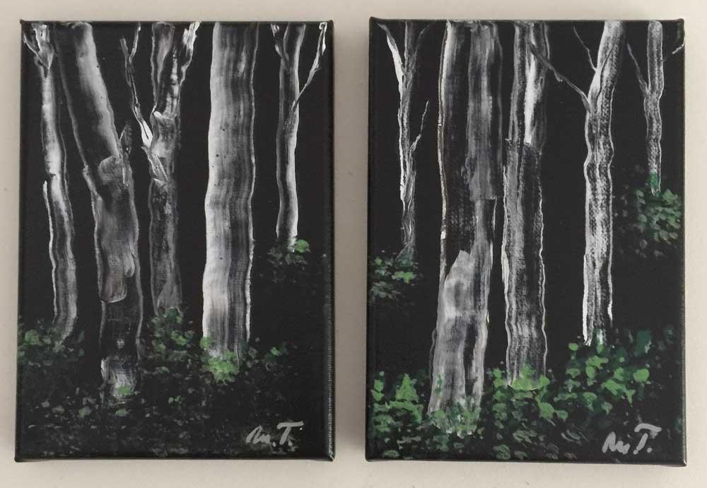 Burch trees - 2 tavlor
